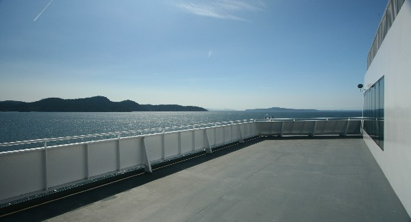 L - Canada - Nanaimo Ferry to Vancouver - perspective 1