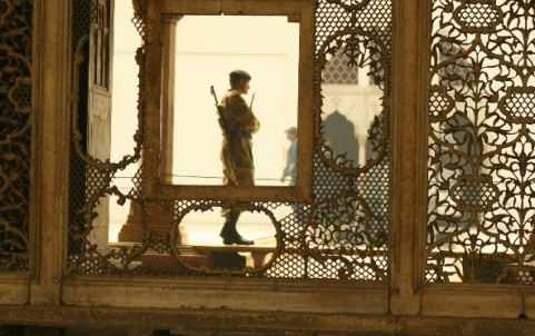 Guarding the Zenana, Lal Qila, India
