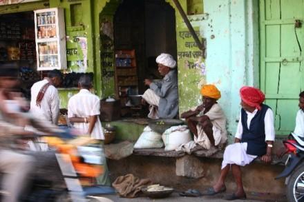 Deogarh street scene