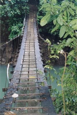 Bridge to the other side, Osa Penisula, Costa RIca