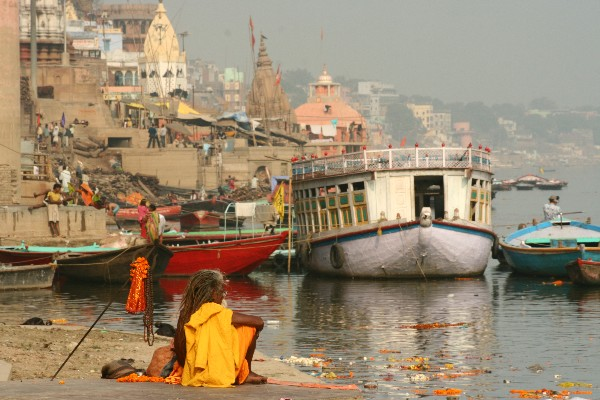 Trident along the Ganges