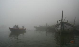 Misty morning Varanasi