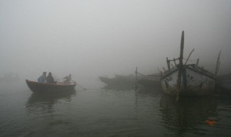 Misty morning Varanasi