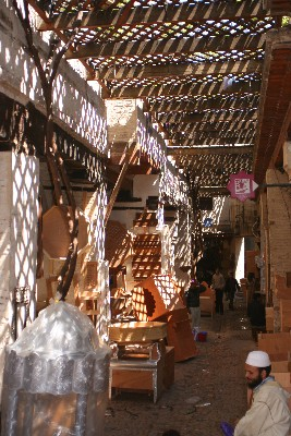 P - Morocco - Woodworking Shops, Fes