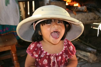 PM - Mexico - Nuk Paola Garcia Garcia wearing my pith helmet