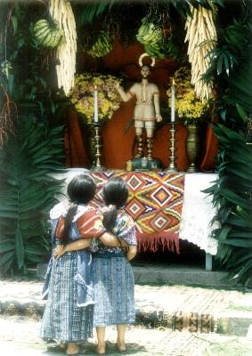 Christ of the Eucharist, Almolonga, Guatemala
