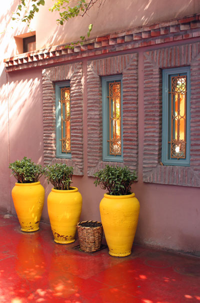 Pots, Jardin Majorelle