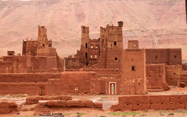 Living kasbah, Tamdaght, Southern Oasis Route, Morocco