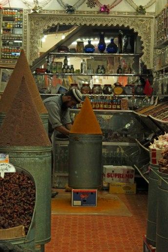 Perfect pillars of spice, Marrakech
