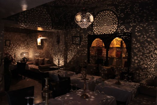 Restaurant, The Mellah (Jewish Quarter), Marrakech