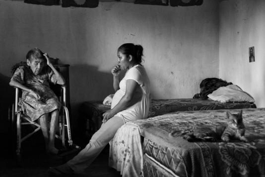 Life, under the watchful eye of Jesus (Guatemala)