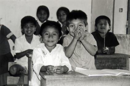 School children. Belize