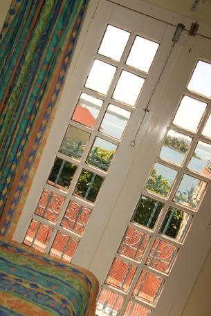 Colour matched, inside & out, Hotel de Flores