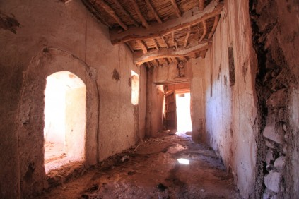 Inside the kasbah, Ait Ben Haddou, Morocco