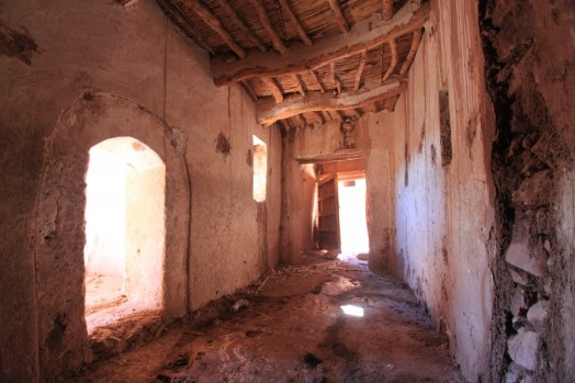 Inside the kasbah, Ait Ben Haddou, Morocco