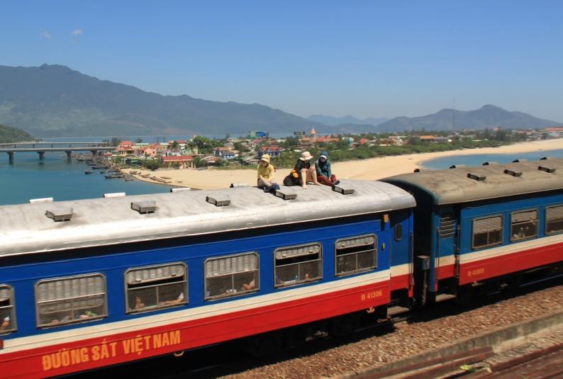 """On the train again..."" Vietnam"