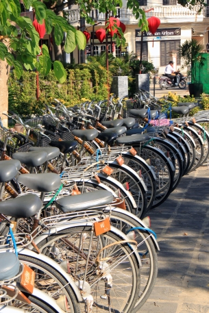 Bicycles for hire