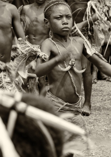 Independence Day Dancers, New Guinea