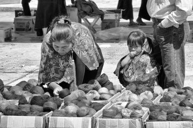 At the market, Zinacantan