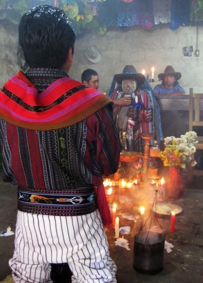 Homage to Maximon, Santiago Atitlan
