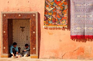 Young entrepreneurs, The Mellah, Marrakech