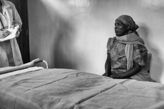 Two women, two worlds (Rural Kenya)