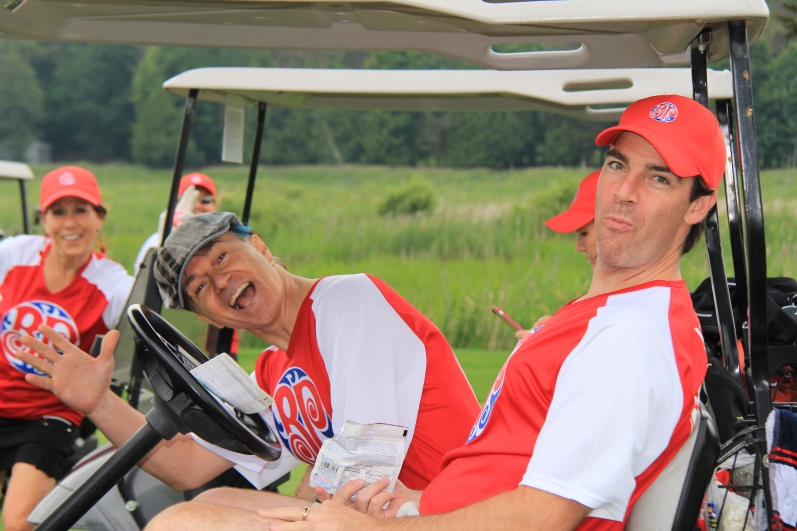 Lawrence Gowan, Celebrity Golfer, & Tom James