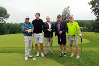 Greg Knudsen with Gary MacDonald, Lyle VanClief, David Smith, & Terry Murphy