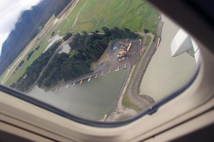 Floatplane channel, Juneau International Aiport