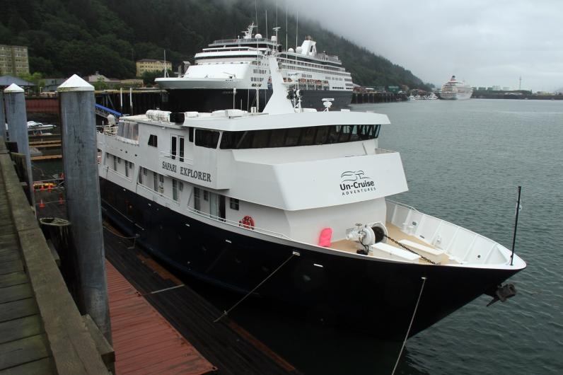 Safari Explorer at Juneau Dock