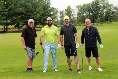 Rick Spring, Matthew Hall, Jason Baugman, & Tim McKinney