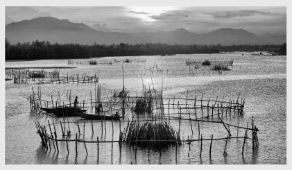 Fishing pens, Hoi An, Vietnam