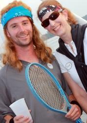 Andre Agassi & Steffi Graf aka Phil Carney & Erin Carney