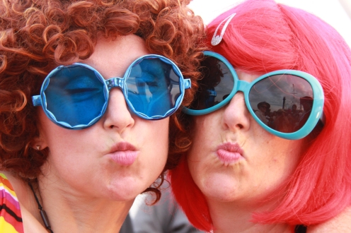 Austin Powers' Glamour Go-Go-Girls: Maria Findlater & Shelagh Binks