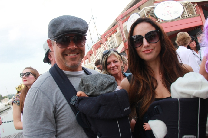 Brangelina with Knox & Vivienne aka Jason Supryka & Jillian Raycroft Supryka