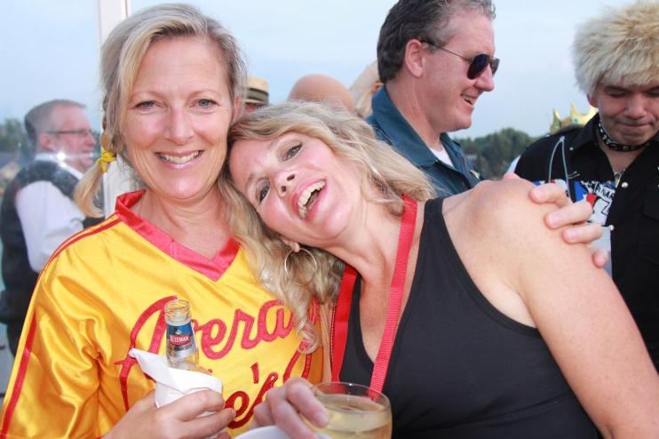 Best buddies: Tori Wilson & Terri Lee Vaughan