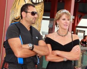 Princess Diana aka Liz Grant with ...Dodi Fayed?
