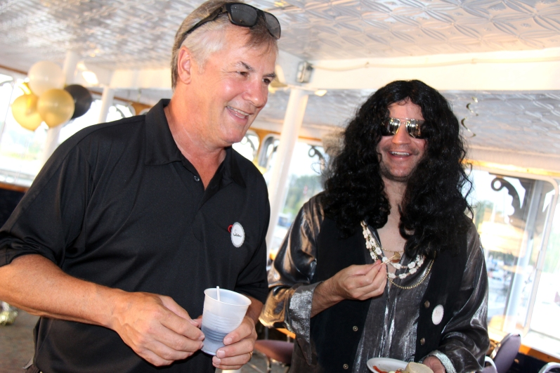 Don Johnson aka Sean McKinney & Slash aka Bill Tozer