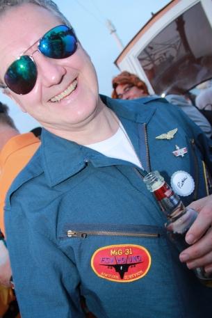 Jet Pilot aka Peter Malone