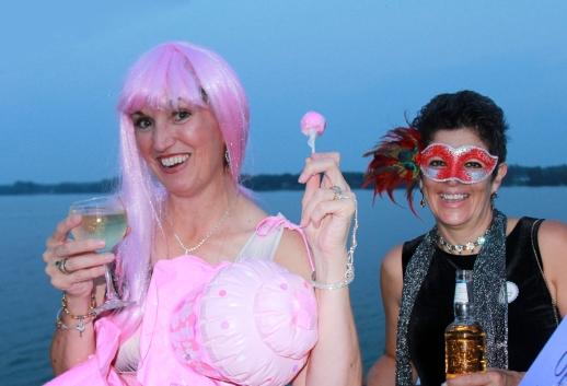 Katy Perry aka Karen Shannon & Mardi Gras party goer aka Lisa Hallsworth