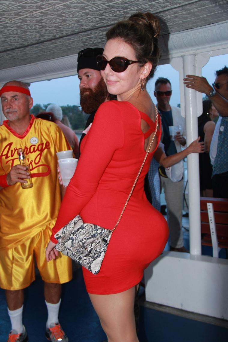 Kim Kardashian's derriere as sported by Ashley Baughman
