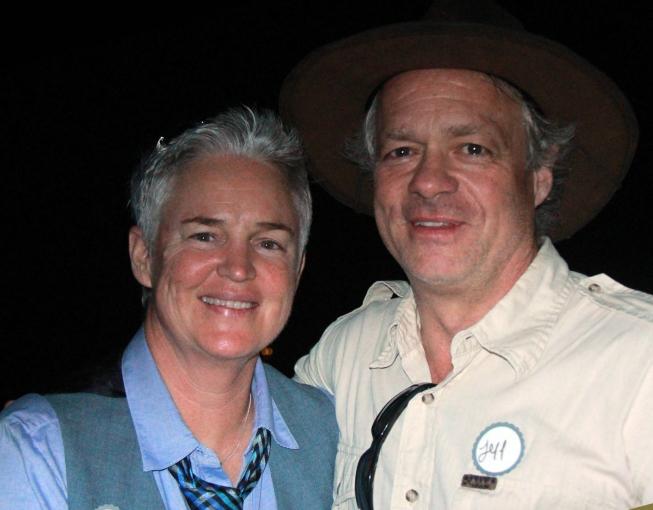 Liane Woodley & Jeff Allin