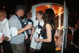 Steffi Graf aka Erin Carney chats with Brangelina aka Jason Supryka & Jillian Raycroft Supryka