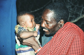 Father Love - Kopune with his youngest child