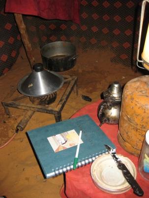Inside the Berber camp, Erg Chebbi, Morocco