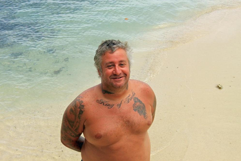 Smiling Joe D., Moorea, Tahitian Isles