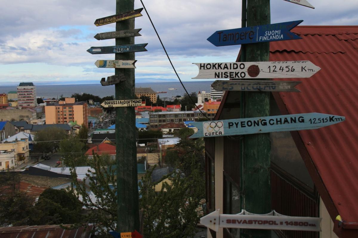 Punta arenas city scape