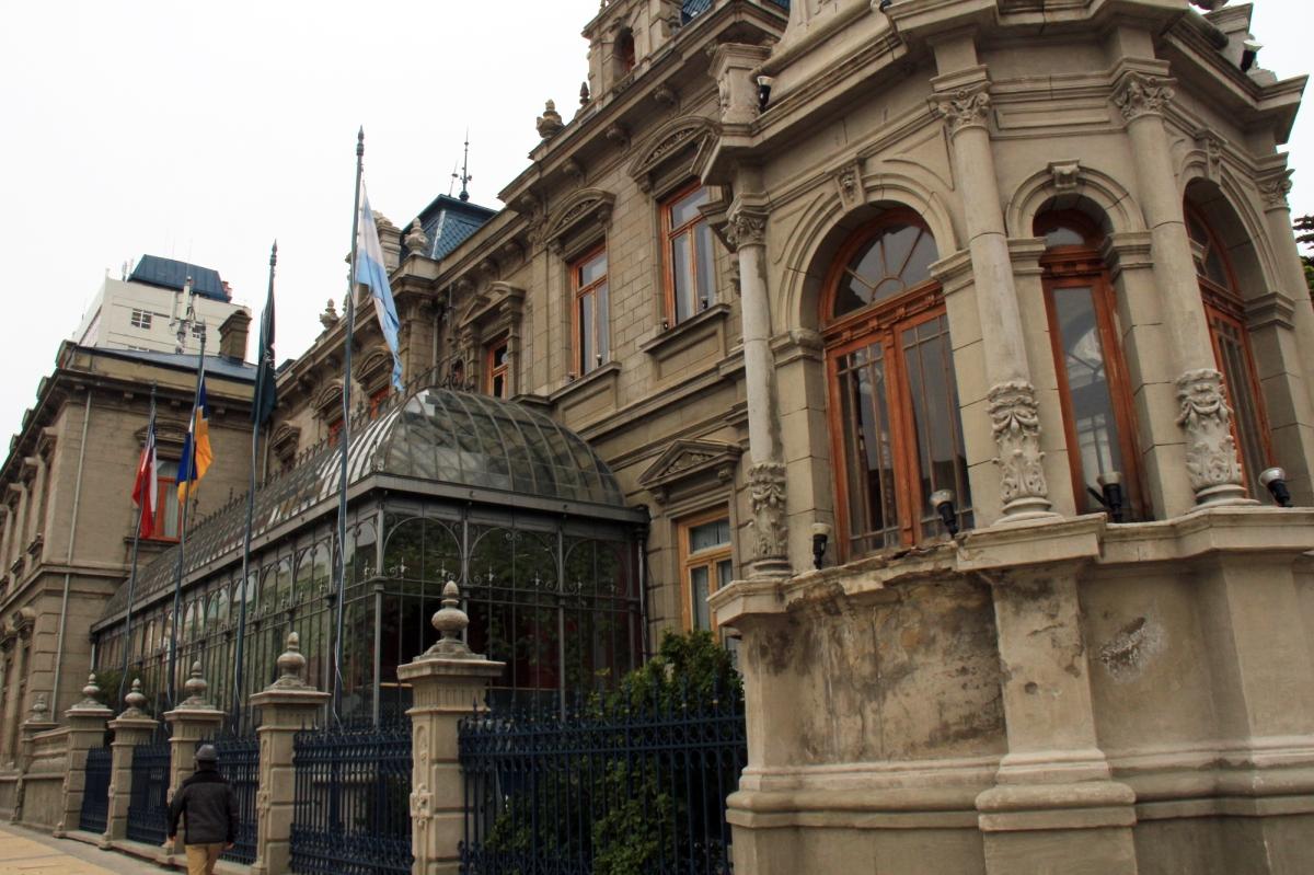 Punta Arenas - historic structure