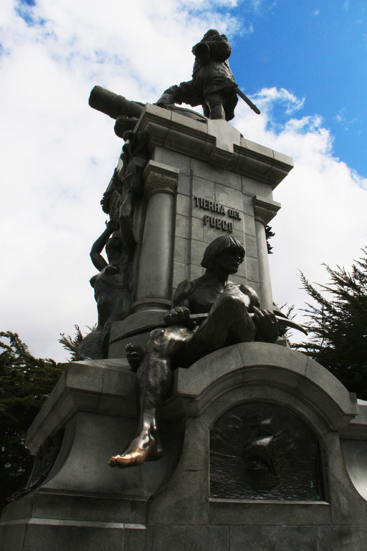 Punta Arenas Plaza Statue