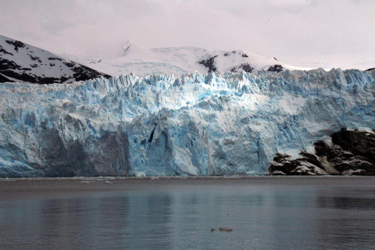 TdF - glacier